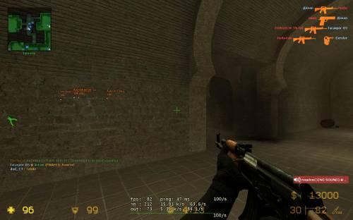 (Wallhack+speedhack) чит для Counter-Strike Source версии 34 (by dod_13)